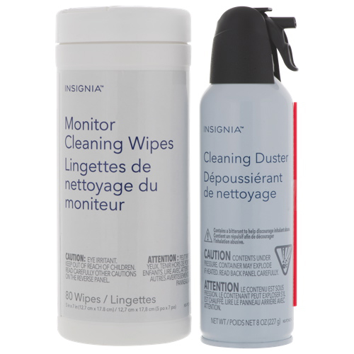 Insignia 8 oz Cleaning Duster and Wipes
