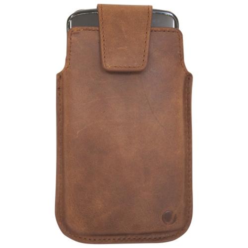 Vetta Samsung Galaxy S4 Leather Pouch - Brown