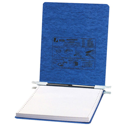 "ACCO 1"" Straight Post 9.5""x11"" Data Binder - Blue"