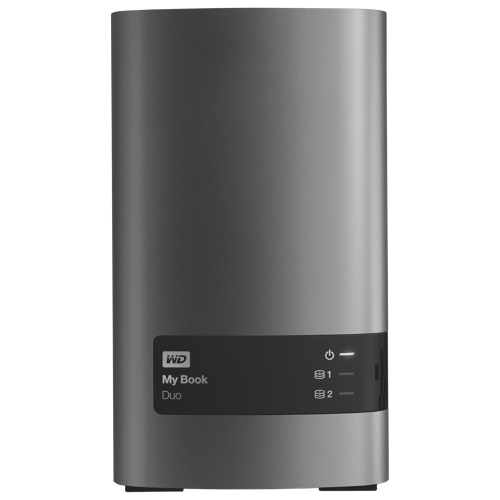 "WD My Book Duo 4TB 3.5"" USB External Hard Drive (WDBLWE0040JCH-NESN)"