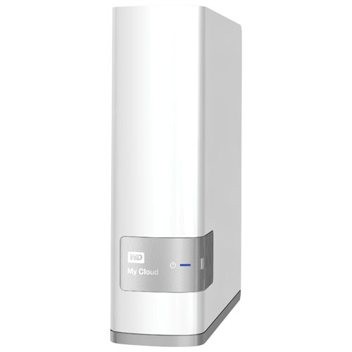 WD My Cloud 6TB Network Attached Storage (WDBCTL0060HWT-NESN)