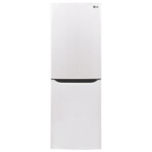 "LG 24"" 10.2 Cu. Ft. Bottom Mount Refrigerator (LBN10551SW) - White"