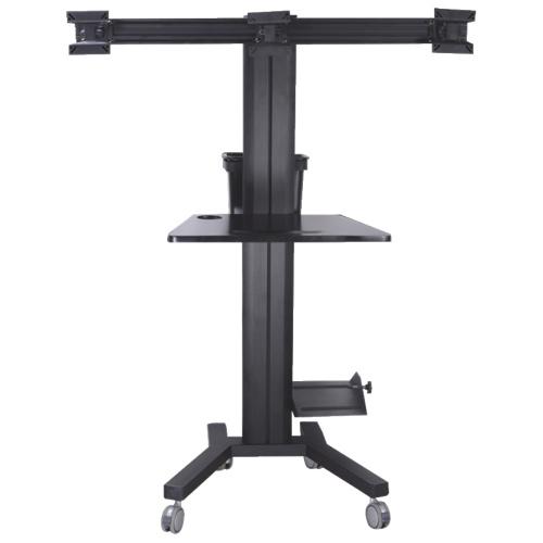 Support mobile de TygerClaw pour PC et 3 moniteurs de 17 po (LCD8507) - Noir