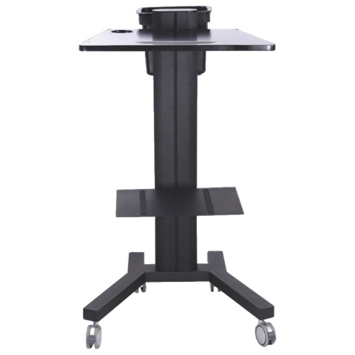 TygerClaw Mobile PC Stand With 360 Rotation (LCD8506) - Black