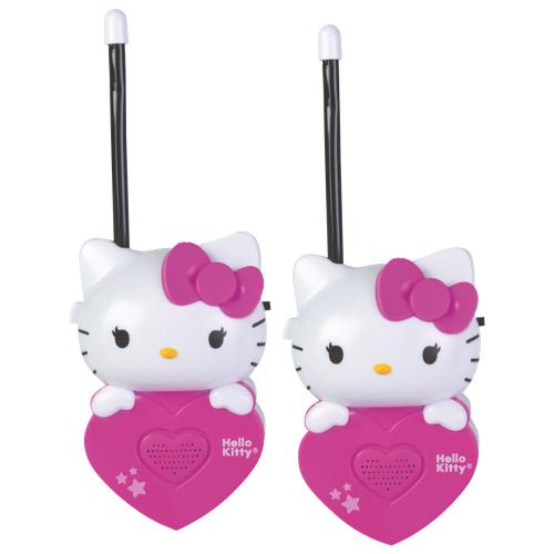 Ensemble de 2 émetteurs-récepteurs portatifs Hello Kitty de Sakar