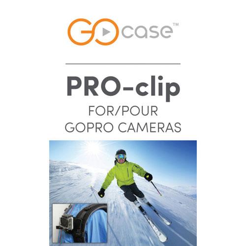 GOcase GoPro Clip Mount - Black