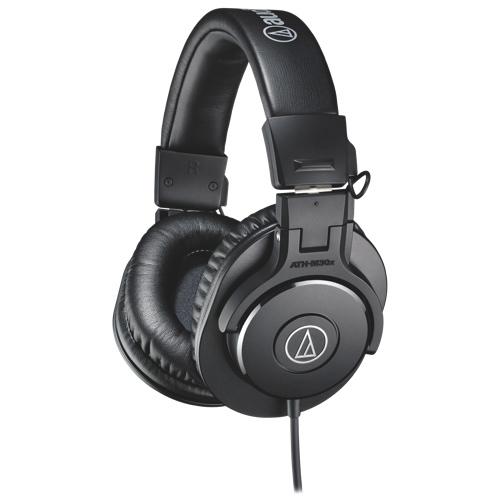 Casque d'écoute à isolation sonore d'Audio-Technica (ATH-M30x) - Noir