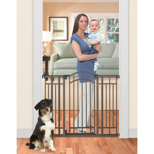 Summer Infant Hardware Pressure Mounted Metal Extra Tall Walk Thru
