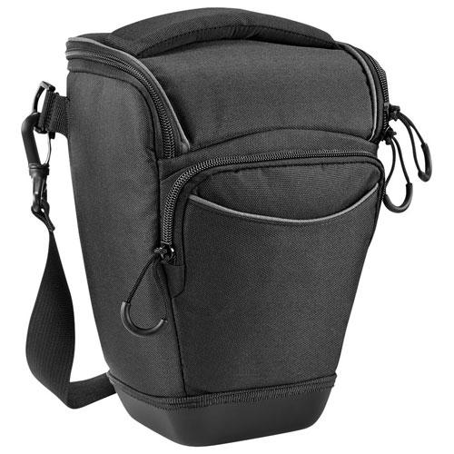 Étui de ceinture de taille moyenne pour appareil photo reflex numérique de Dynex (DX-DSLRH05) - Noir