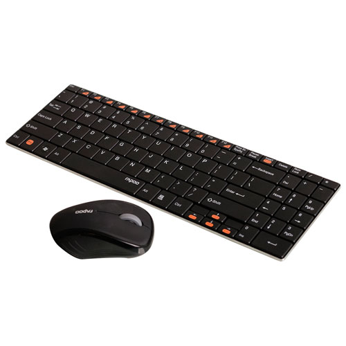 Rapoo Blade Series Wireless Keyboard & Mouse Combo (9060.BLACK)