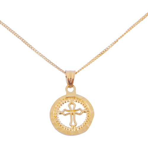 10k gold cross necklace baby jewelry best buy canada aloadofball Image collections
