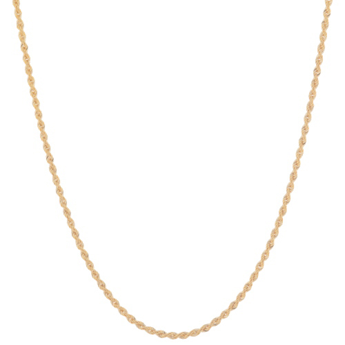"""16"""" Le Reve Yellow Gold 10k Rope Chain"""