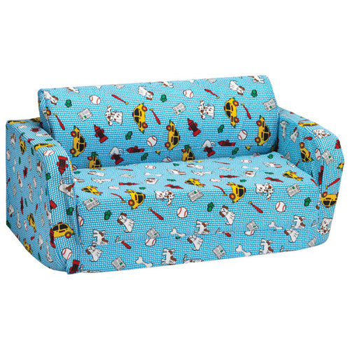 Comfy Kids   Kids Flip Sofa   Blue Boy Stuff : Kids U0026 Teens Chairs   Best  Buy Canada