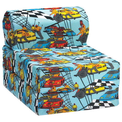 Comfy Kids - Kids Flip Chair - Race Car