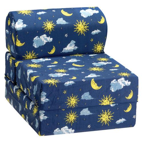 Comfy Kids   Kids Flip Chair   Moon U0026 Stars   Online Only