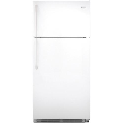 Réfrigérateur de 30 po et 18 pi cu à congélateur en haut de Frigidaire (FFTR1814QW) - Blanc