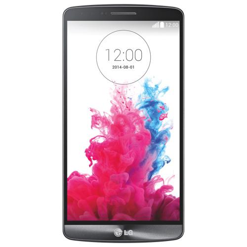 Téléphone intelligent de 32 Go G3 de LG offert par Fido - Noir - Entente de 2 ans