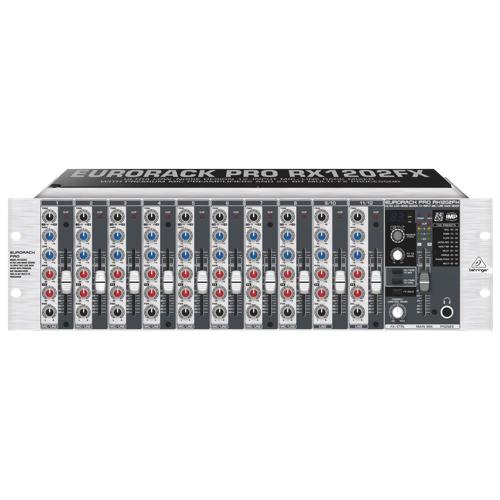 Mélangeur audio de 19 po installable sur support de Behringer (RX1202FX)