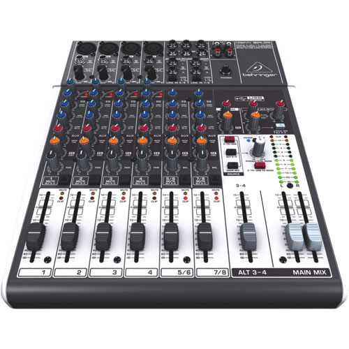 Behringer Xenyx 12-Channel Studio/Live Mixer (1204USB)
