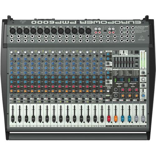 Behringer EuroPower 20-Channel Studio/Live Mixer (PMP6000)