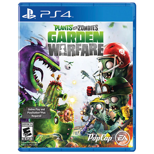 Plants vs Zombies: Garden Warfare (PS4) - Previously Played