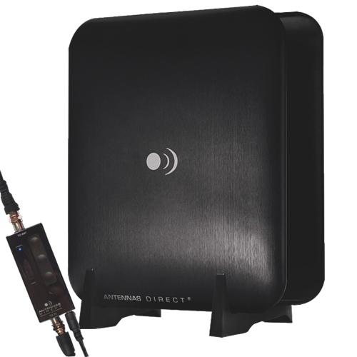 Antenne d'intérieur amplifiée ClearStream pour la télévision numérique (CSM1-XG-CN)