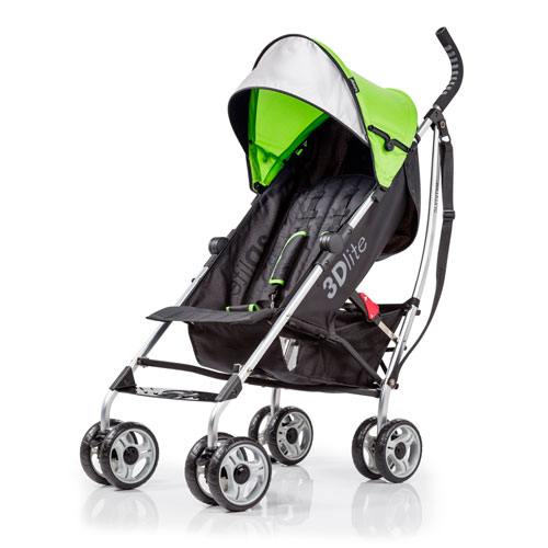 Summer Infant 3D Lite Convenience Stroller - Lime/Black