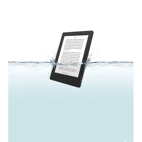 Kobo aura h2o 68 digital ebook reader with touchscreen black kobo aura h2o 68 digital ebook reader with touchscreen black ereaders best buy canada fandeluxe Images