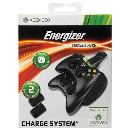 Chargeur Energizer de PDP pour manette pour Xbox 360