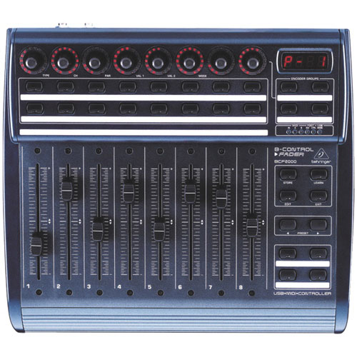 Behringer DJ Controller (BCF2000)