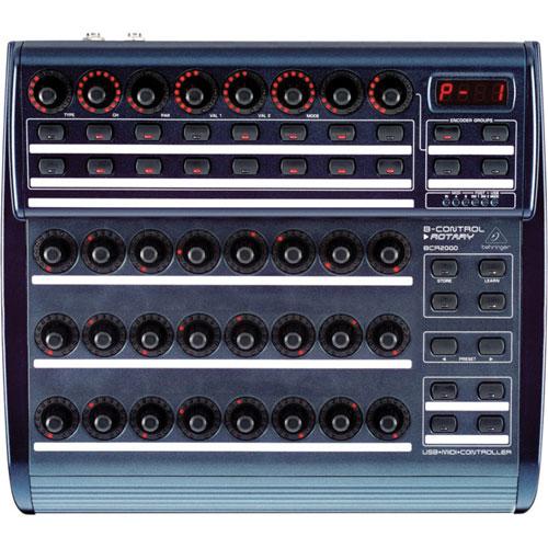 Console de contrôle D.J. de Behringer (BCR2000)