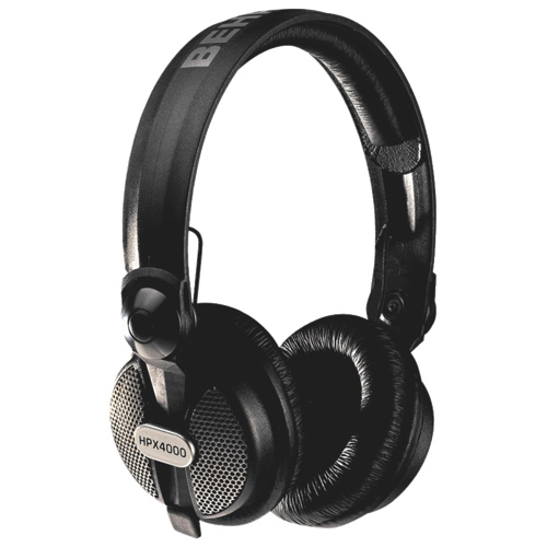 Behringer Over-Ear Sound Isolating Headphones (HPX4000) - Black