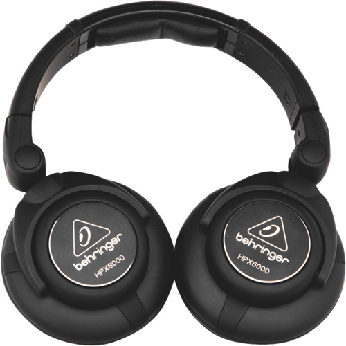 Behringer Over-Ear Sound Isolating Headphones (HPX6000) - Black