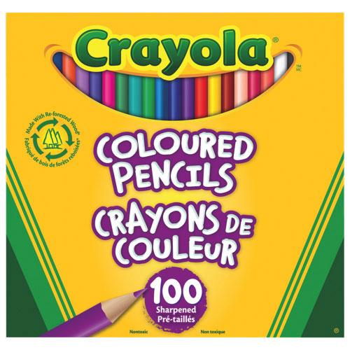Crayon de couleur de Crayola - Paquet de 100