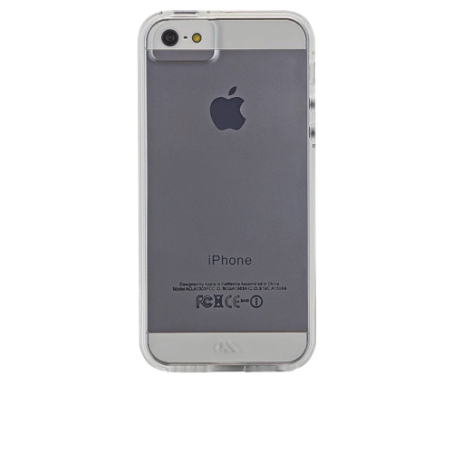 Case-Mate Naked Tough iPhone5/5s/SE Fitted Soft Shell Case - Clear