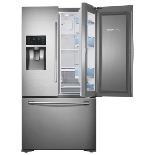 Samsung 358 225 Cu Ft French Door Counter Depth Refrigerator