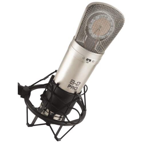 Microphone à condensateur à double membrane de Behringer (B-2 PRO)