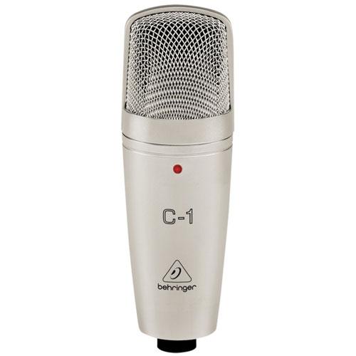 Microphone de studio à condensateur de Behringer (C-1)