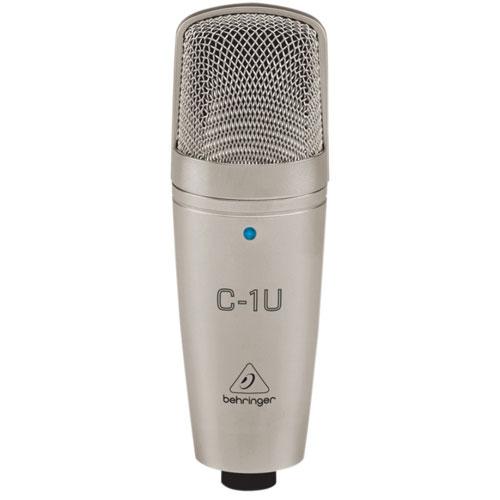 Microphone de studio USB à condensateur de Behringer (C-1U)