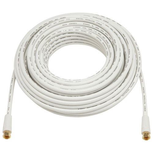 Dynex 15.2m (50 ft.) Coaxial AV Cable (DX-HC50502)