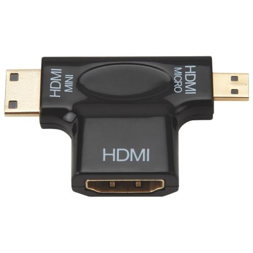 Adaptateur mini/micro HDMI de Dynex (DX-HZ317)