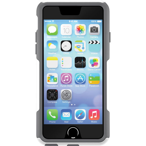 OtterBox Commuter iPhone 6/6s Fitted Hard Shell Case - Grey