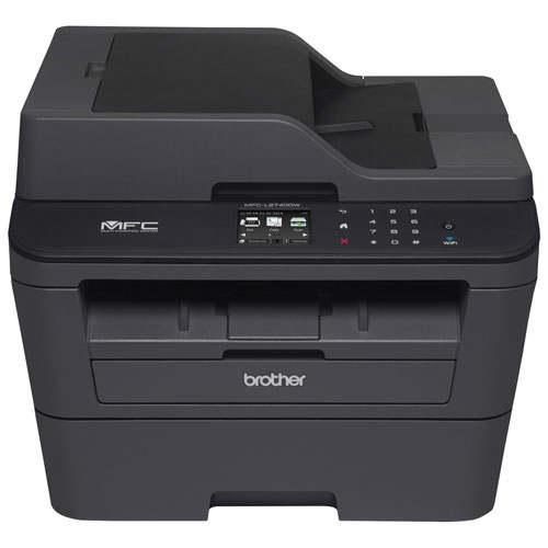 Brother Wireless Monochrome All-In-One Laser Printer With Fax (MFC-L2740DW)