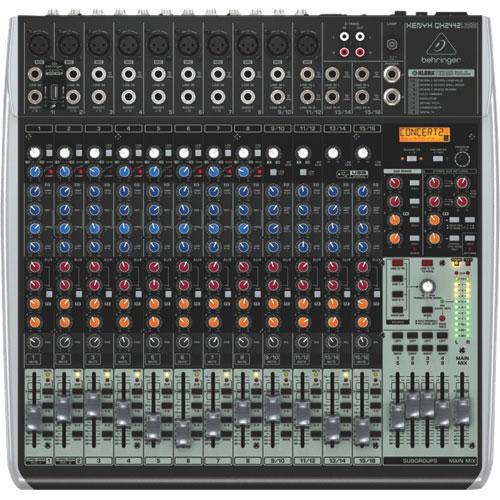 Behringer Xenyx QX2442USB Premium 24-Input 4/2-Bus Mixer