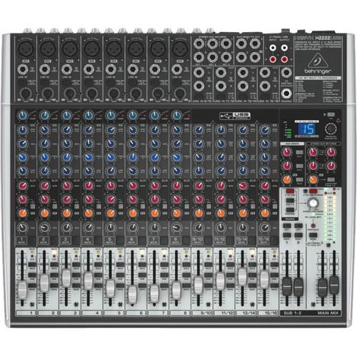 Mélangeur audio USB Xenyx X2222USB de Behringer