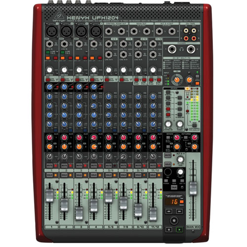 Behringer's Xenyx UFX1204 Mixer