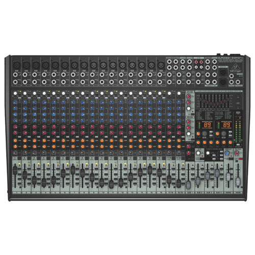 Behringer Eurodesk 24-Input 4-Bus Studio/Live Mixer (SX2442FX)