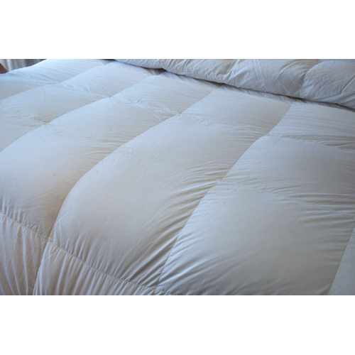 Maholi Royal Elite Collection 233 Thread Count Duck Down Summer Duvet - King - White