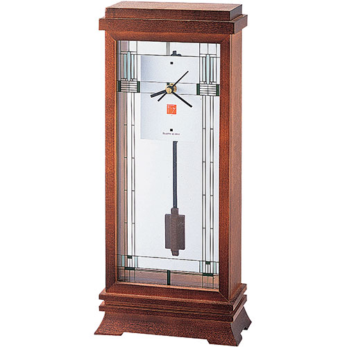 Bulova Frank Lloyd Wright Willits Mantel Clock (B1839)