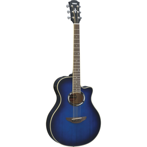 Yamaha APX Series Acoustic Electric Guitar (APX500III OBB) - Blue Burst